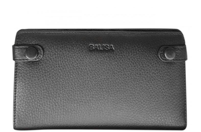 Мужское кожаное портмоне Balisa 2626 black Кожаное портмоне balisa оптом, Одесса 7 км