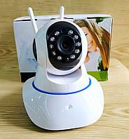 Беспроводная поворотная IP-камера видеонаблюдения WIFI Intelligent camera Q5 с датчиком движения