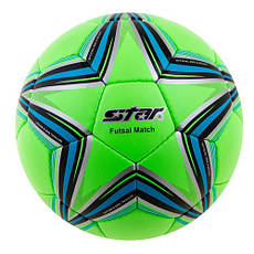Мяч футзальный Star Cordly, зеленый №4