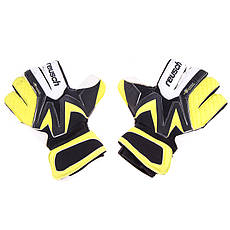 Вратарские перчатки Reasuch Latex Foam,желто/черный №9.