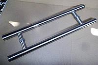 Ручка для стеклянных дверей нержавейка 45см, фото 1