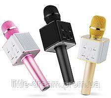 Беспроводной Микрофон караоке bluetooth Kronos Karaoke Q7.