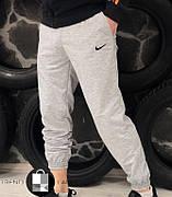 Мужские спортивные штаны в стиле Nike Grey Серые