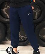 Мужские спортивные штаны в стиле Nike Dark Blue Темно-синие