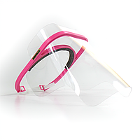 Защитный экран BEZPEKAR L/XL Прозрачный с розовым (101)