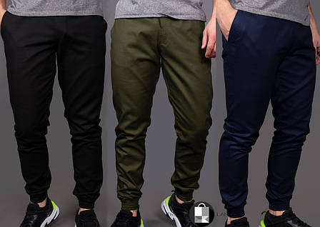 Качественные мужские штаны карго Intruder 3 цвета: Черный, Хаки, Темно-синий, фото 2
