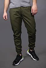 Качественные мужские штаны карго Intruder 3 цвета: Черный, Хаки, Темно-синий, фото 3