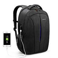 """Качественный рюкзак Tigernu T-B3105-2 Blue 15.6"""" USB для ноутбука, города, работы, учебы, поездок"""