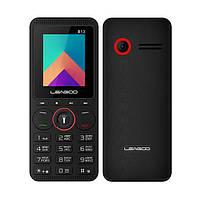 Телефон кнопочный с камерой и фонариком и русской клавиатурой на 2 сим карты Leagoo B13 black russian keyboard