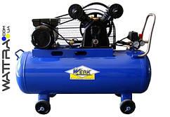 ⭐ Компрессор поршневой VBM-2T0.4-100 WERK - 10 атм. 2,2 кВт, вход: 420 л/хв., ресивер 100 л.