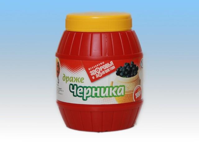 Драже Черника (300г).
