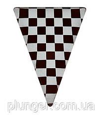 Шоколадний декор для кондитерських виробів Трикутник арлекин
