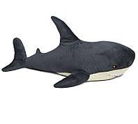 Мягкая игрушка Акула 47 см серая светло-бежевое брюшко Fancy AKL01