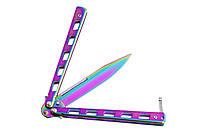 Нескладной нож-бабочка (балисонг) W901 - простая и надёжная конструкция, фото 1