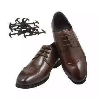 еластичні шнурки коричневі