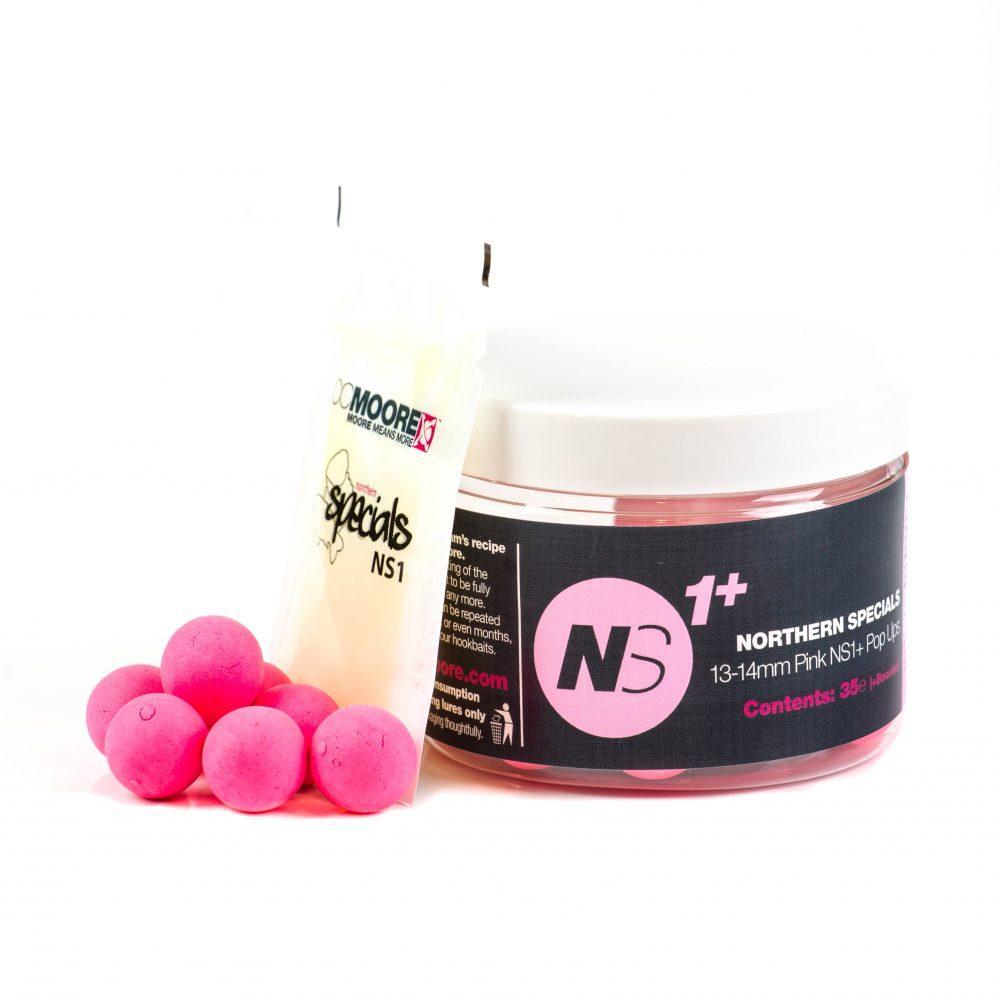 Плаваючі бойли CCMoore Northern Specials NS1+ Pink Pop Ups (рожеві) 13/14мм