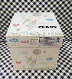 Комплект постельного белья в детскую кроватку из ранфорса 100*150 ТМ Aran Clasy SAILING FISH, фото 3