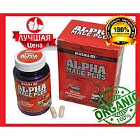 Alpha Male Plus - СУПЕРпотенция, увеличение пениса, 60 капсул