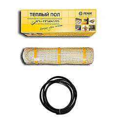 Нагревательный мат двужильный IN-THERM LDTS-200 270 Вт 1,4 м2 теплый пол электрический для укладки под плитку