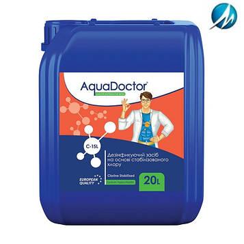 Гипохлорит натрия AquaDoctor C-15L, 20 л