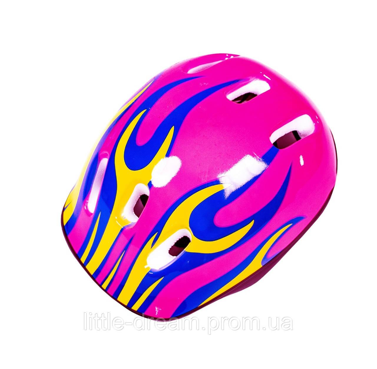 Шлем Pink. Огонь розовый