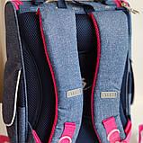 Рюкзак школьный H-11 Oxford blue, фото 2
