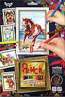Раскраска по номерам с карандашами, PBN-01-03