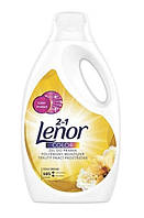 Гель для стирки цветного и белого белья 2 в 1 с ополаскивателем Lenor Gold Orchid Color 5775 мл