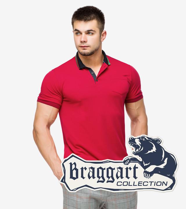 Braggart | Тенниска мужская 6422 красный
