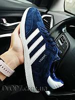 Мужские кроссовки в стиле Adidas Samba Blue
