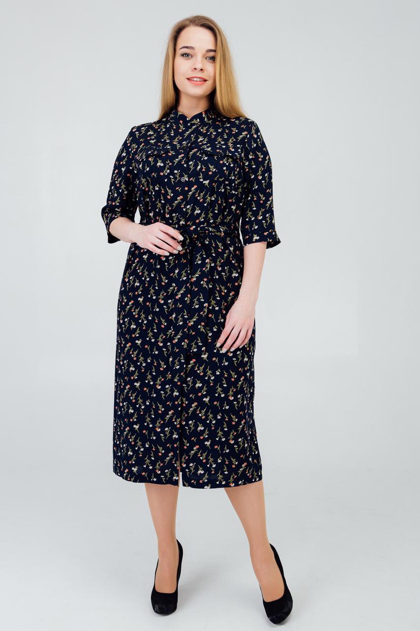 Платье  с 50 по 56 размер коллекция 2020