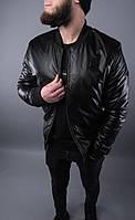 Модная мужская кожаная  куртка, фото 1
