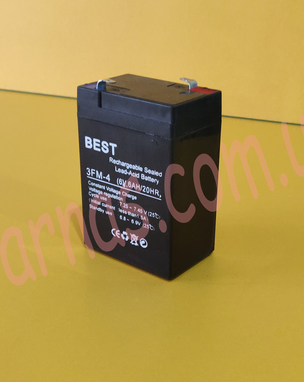 Аккумулятор 6v 6ah 700 грамм