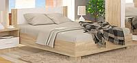 Кровать Маркос 180 ламели дуб сонома Мебель Сервис