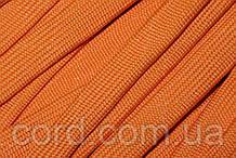 Шнур плоский чехол 15мм (100м) оранж