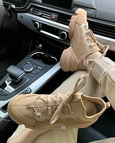 Женские кроссовки в стиле Christian Dior D-Connect бежевые, фото 2