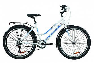 """Велосипед городской женский 26"""" Discovery Prestige Woman 2020 рама 17"""" бело-голубой, фото 2"""