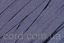Шнур плоский чехол 15мм (100м) синий