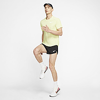 Шорты мужские для бега Nike M NK FAST 2IN SHORT черные