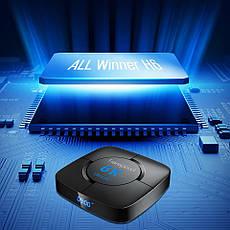 Смарт ТВ медіа приставка Transpeed 6K 4/64GB Smart TV Box Allwinner H6 Android 9.0 Смарт ТВ бокс, фото 2