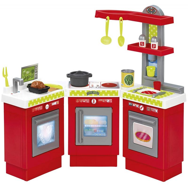 Кухня модульная красная Ecoiffier 1699