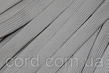 Шнур плоский чехол 15мм (100м) светло бежевый
