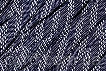 Шнур плоский чехол 15мм (100м) синий с белым