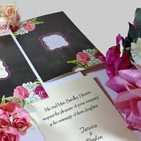 Пригласительные на свадьбу цветочные, фото 2