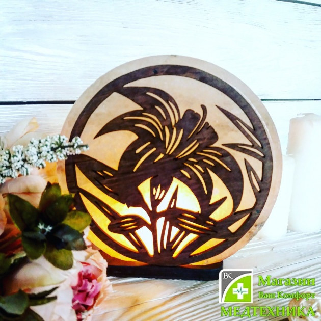 Сольова лампа «Лілія» 3-4 кг