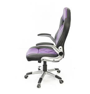 Кресло АКЛАС Форсаж-8 PL TILT Фиолетовое, фото 2