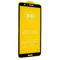 Стекло 9D для Huawei P smart 2018 Черный