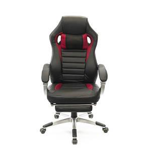Кресло АКЛАС Стрендж PL SR Черное с красным, фото 2