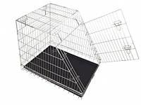 Клетка для собак в авто, цинк, 1 дверь, 92х63х72см