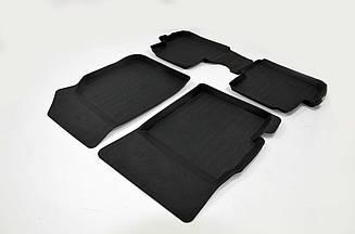 Коврики резиновые в салон для Chevrolet Spark (2010-2015) 3D PREMIUM